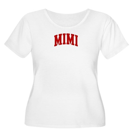 MIMI (red) Women's Plus Size Scoop Neck T-Shirt