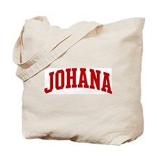 JOHANA (red) Tote Bag
