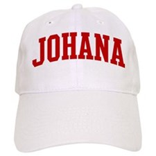 JOHANA (red) Baseball Cap
