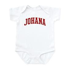 JOHANA (red) Infant Bodysuit