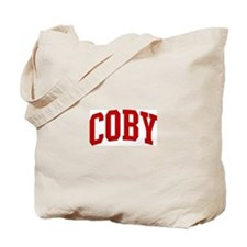 COBY (red) Tote Bag