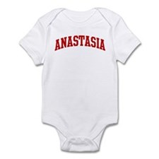 ANASTASIA (red) Infant Bodysuit