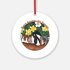 Dutch Bunny Babies Ornament (Round)