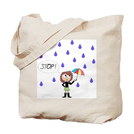 Can't Stop The Rain From Fall Tote Bag