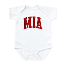 MIA (red) Infant Bodysuit
