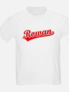 Retro Rowan (Red) T-Shirt