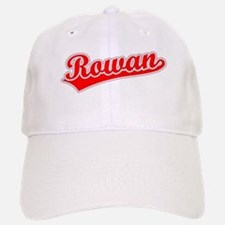 Retro Rowan (Red) Baseball Baseball Cap