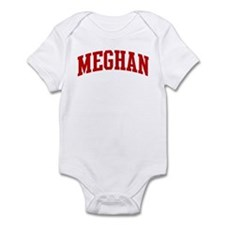 MEGHAN (red) Infant Bodysuit