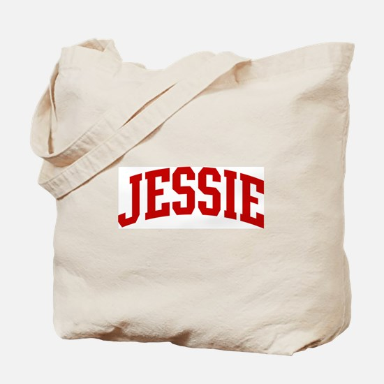 JESSIE (red) Tote Bag