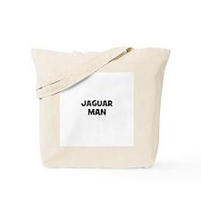 Jaguar Man Tote Bag