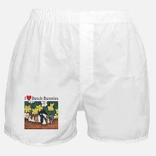 I love Dutch Bunnies Boxer Shorts