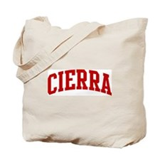 CIERRA (red) Tote Bag