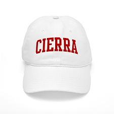 CIERRA (red) Baseball Cap