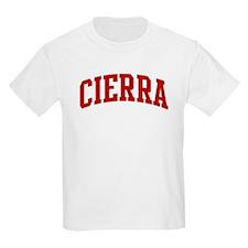 CIERRA (red) T-Shirt