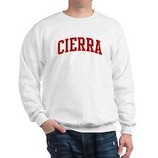 CIERRA (red) Jumper