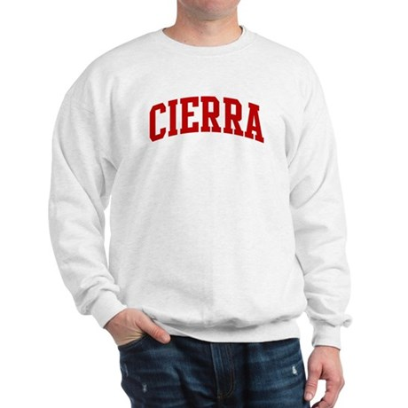 CIERRA (red) Sweatshirt