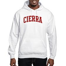 CIERRA (red) Jumper Hoody