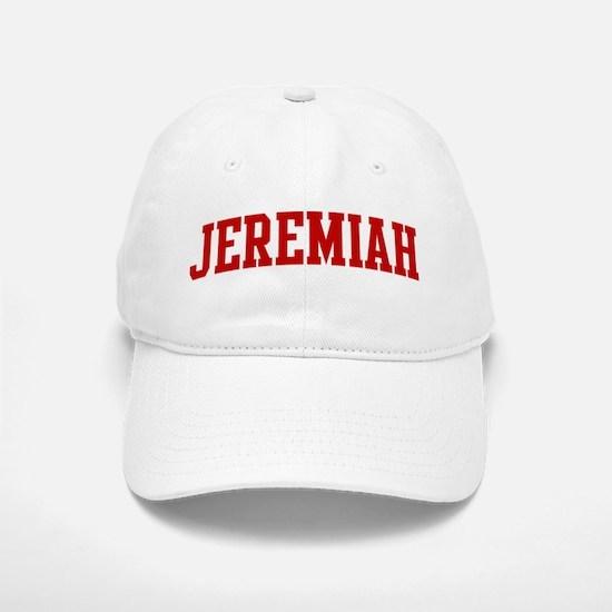 JEREMIAH (red) Baseball Baseball Cap