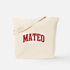 MATEO (red) Tote Bag