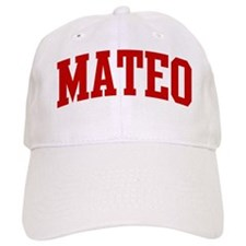 MATEO (red) Baseball Cap