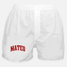 MATEO (red) Boxer Shorts
