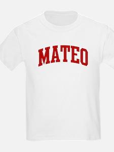 MATEO (red) T-Shirt