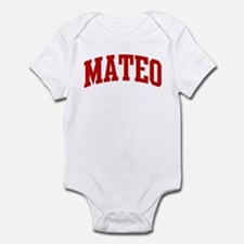 MATEO (red) Infant Bodysuit