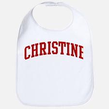 CHRISTINE (red) Bib