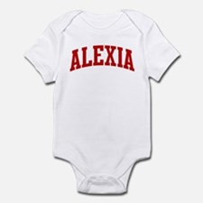 ALEXIA (red) Infant Bodysuit