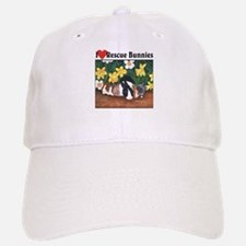 I love Rescue Bunnies Baseball Baseball Cap
