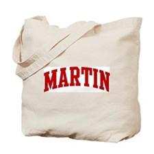 MARTIN (red) Tote Bag