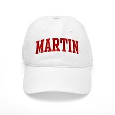 MARTIN (red) Baseball Cap