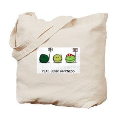 World Peas/Peas Lovin' Happiness Tote Bag