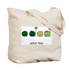 World Peas/Peas Lovin' Happiness Tote Bag