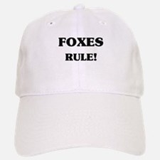 Foxes Rule Baseball Baseball Cap