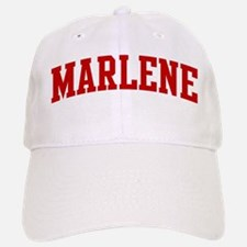 MARLENE (red) Baseball Baseball Cap
