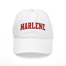 MARLENE (red) Baseball Cap
