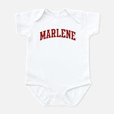 MARLENE (red) Infant Bodysuit