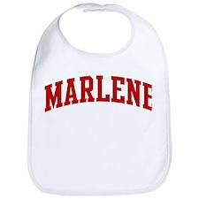 MARLENE (red) Bib