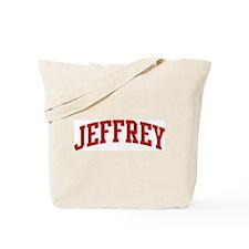 JEFFREY (red) Tote Bag