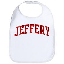 JEFFERY (red) Bib