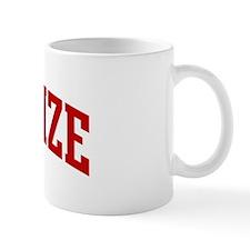 CHARLIZE (red) Mug