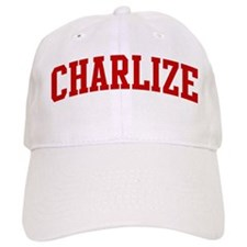 CHARLIZE (red) Baseball Cap