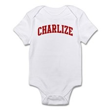 CHARLIZE (red) Infant Bodysuit
