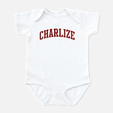 CHARLIZE (red) Onesie