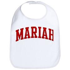MARIAH (red) Bib