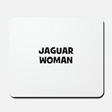 Jaguar Woman Mousepad
