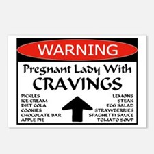 Pregnant Cravings Postcards (Package of 8)