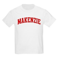 MAKENZIE (red) T-Shirt