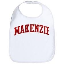 MAKENZIE (red) Bib
